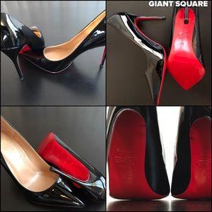 Christian LouBoutin sokate High Heels Black Size 8
